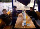 Bootsausflug bei Schlechtwetter